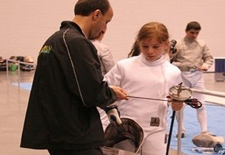 """Olympian Fencers Featured in """"Welcome Home"""" Magazine"""