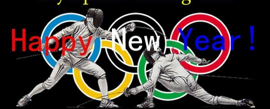 Happy New Year from OLYMPIAN FENCING CLUB  to You !!!