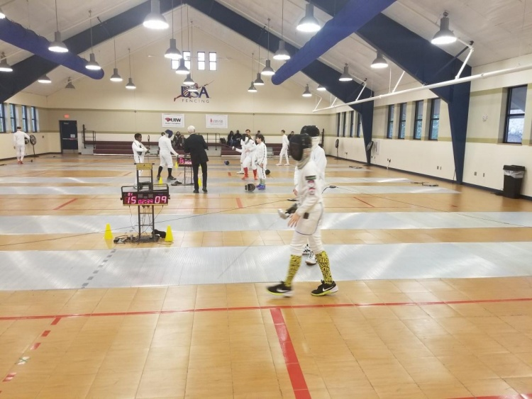 2018, December 29 - 2018 OLYMPIAN Epee Holiday & Party
